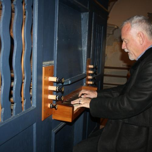 John Debney playing Silent Night on the original organ of Franz Xaver Gruber