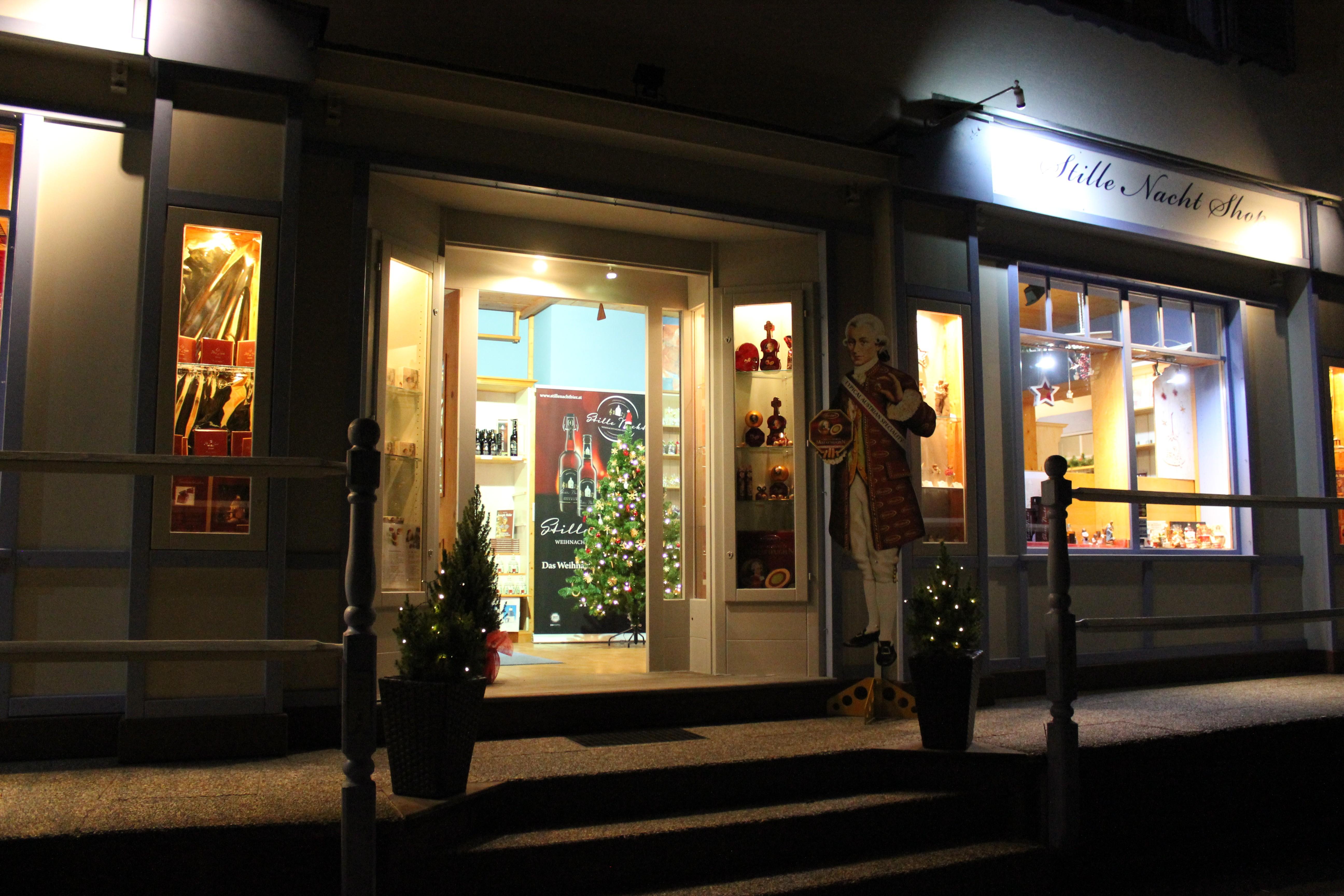 Stille-Nacht-Shop Oberndorf Außenansicht