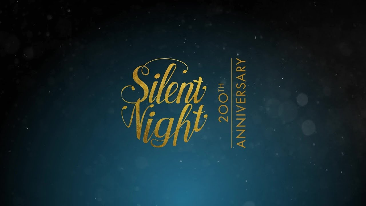 graphic about Silent Night Lyrics Printable titled Quiet Evening \u203a \u201cSilent Evening! Holy Night time!\
