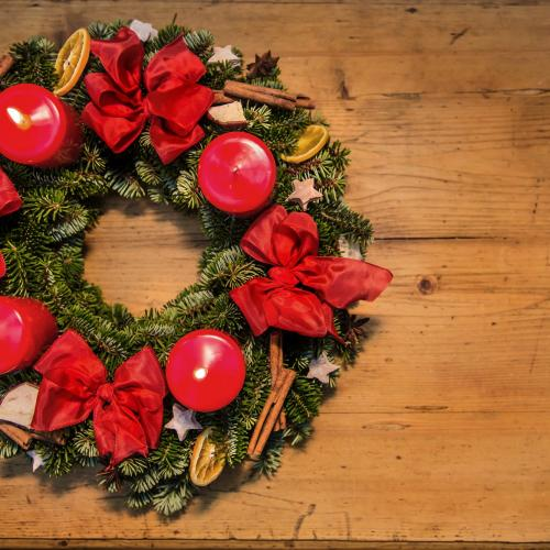 Advent wreath © SalzburgerLand Tourismus, Christmas