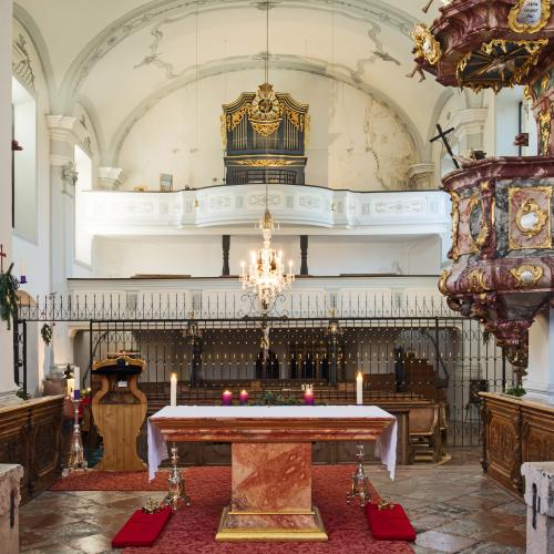 Orgel, Wallfahrtskirche Maria im Mösl