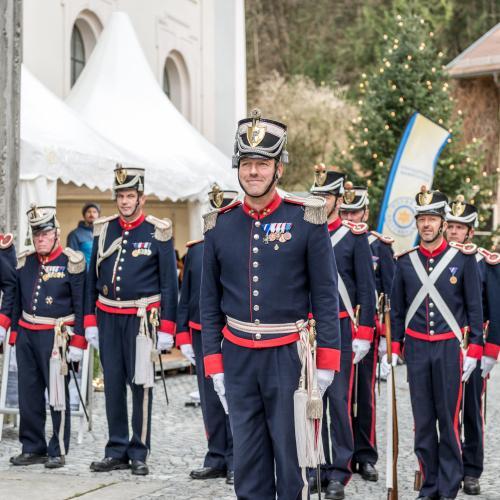 © Stadtgemeinde Hallein i Adi Aschauer, Bürgergarde Hallein