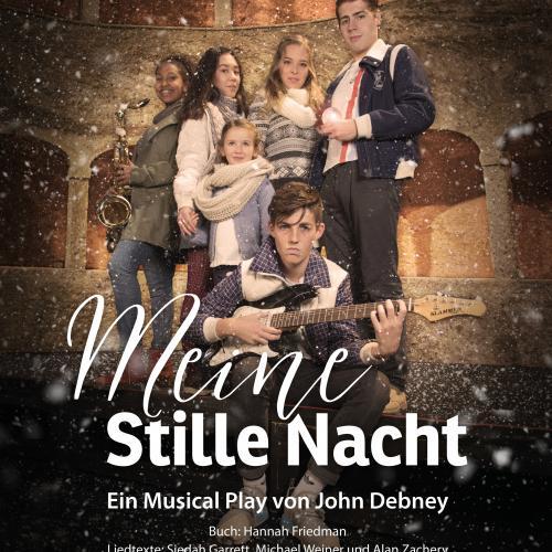 (c) Salzburger Landestheater, Plakatmotiv Meine Stille Nacht Gruppe