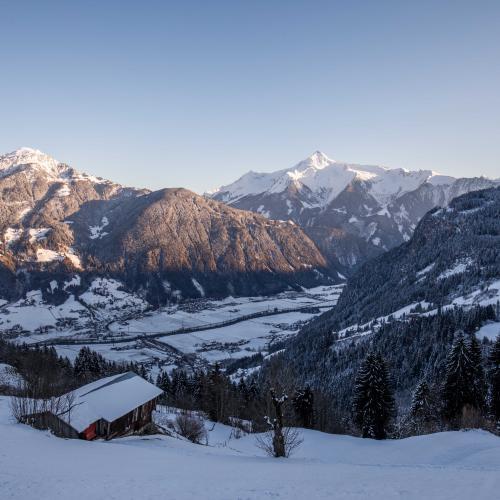 Kleinschwendberg with view to Mayrhofen
