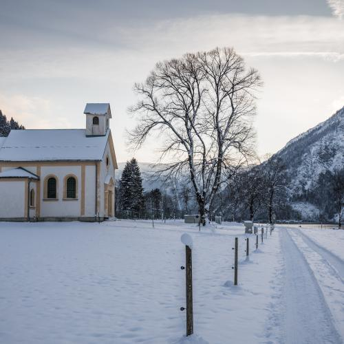 Seehof-chapel at Achensee