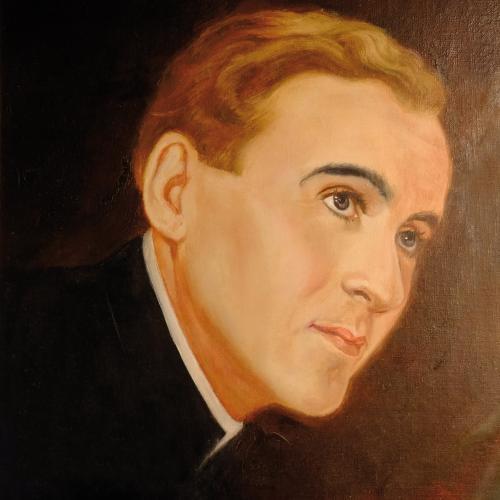 Portrait Joseph Mohr, beigestellt