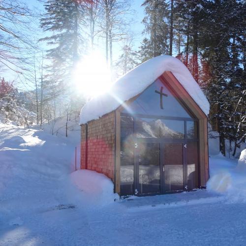 Winterwunderland im Stille Nacht Ort Hintersee
