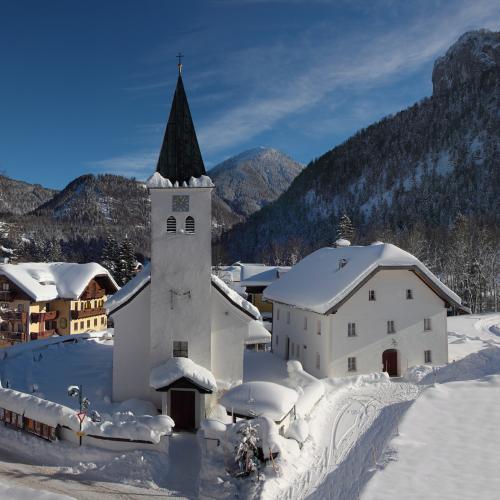 Joseph-Mohr Kirche in Hintersee