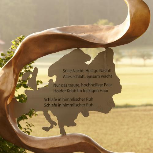 (c) Franz-Xaver-Gruber-Gemeinschaft, Friedensweg in Hochburg-Ach