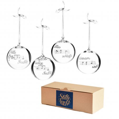 Tirol Shop_Stille Nacht Edition_Kisslinger Weihnachtskugeln